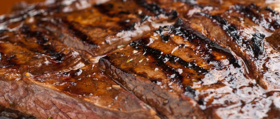 Summertime Grilling- Steak with Balsamic, Dijon, Rosemary Marinade