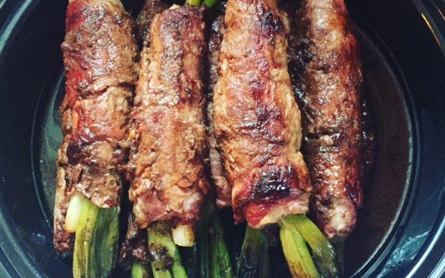 Beef Negimaki with Scallions