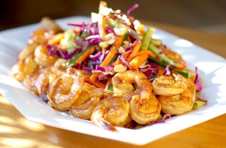 Thai shrimp salad 2
