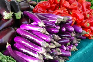 Eggplant farmers market